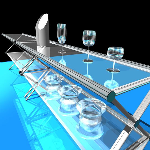 テーブルをデザインしました。